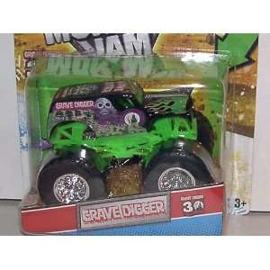 Grave Digger Monster Jam Truck With Exclusive 30TH ANNV. Grave Digger