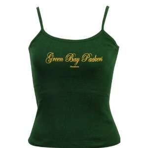 Green Bay Packers Womens Gameday Spaghetti Strap Tank
