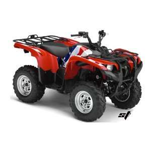 AMR Racing Yamaha Grizzly 700 ATV Quad Graphic Kit   Stars and Stripes