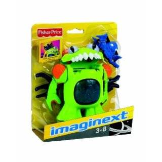 Fisher Price Imaginext Deluxe Space Figures   Blue Alien