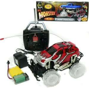 Remote Controlled Monster Truck with Light up Wheels