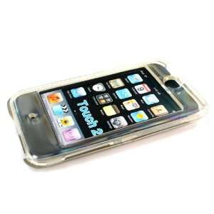 Clip on Crystal Case for Ipod Touch 2nd Gen Clear Case  Players