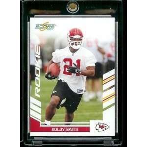 com 2007 Score # 384 Kolby Smith   Kansas City Chiefs   NFL Football