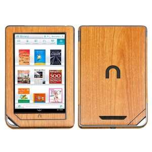 Light Wood Techskin & Screen Protector For NOOK Tablet Electronics