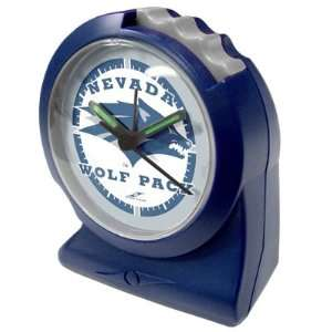 Nevada Wolf Pack Suntime Gripper NCAA Alarm Clock