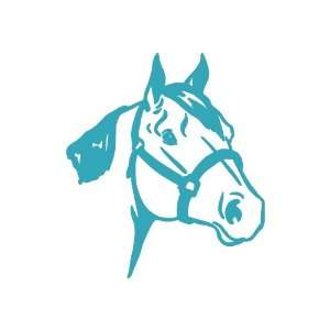 Quarter Horse TEAL Vinyl window decal sticker Office