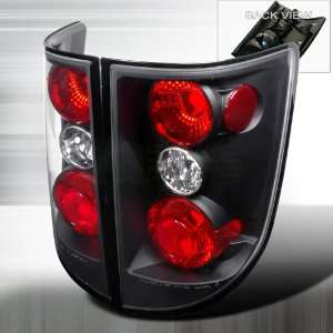 2005 2010 Honda Ridgeline Altezza Tail Light Black