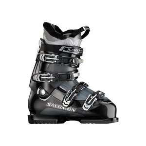 Salomon Mission 4 Ski Boot   Black/Gun Metal Translucent   29.5
