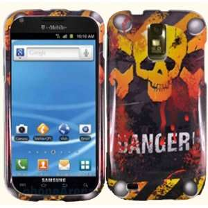 Danger Hard Case Cover for Samsung Hercules T989 Cell