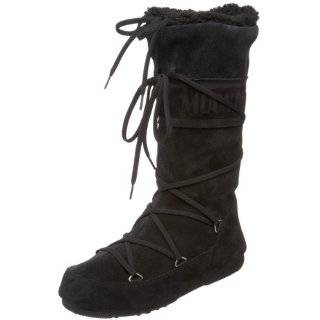 Tecnica Moon Boot Womens Butter Faux Shearling Boot