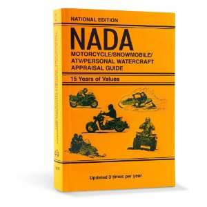 2011 NADA Motorcycle/Snowmobile/ATV/Personal Watercraft Appraisal