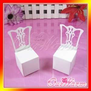 white chair wedding party gift favor boxes supplies Toys & Games