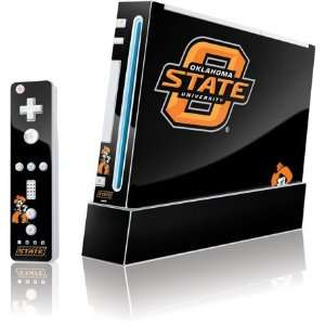 Oklahoma State University Vinyl Skin for Wii (Includes 1 Controller
