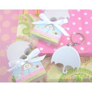 Baby Shower Umbrella Tape Measure Favors