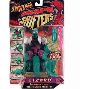 Spider Man Shape Shifters Lizard Figure (Transforms to