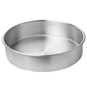 in. x 3 in. H Aluminum Cake Pan   Pack of 12