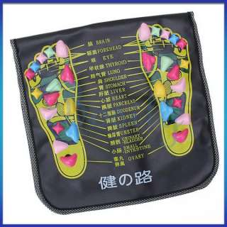 Reflexology Foot Massager Walk Stone Leg Massaging Mat