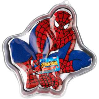 Amazing Spider Man Cake Pan, Aluminum Party Supplies