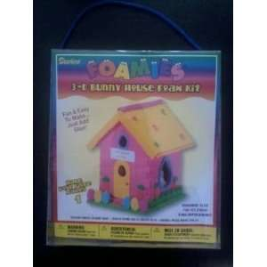 Foamies 3 D Bunny House Foam Kit Arts, Crafts & Sewing