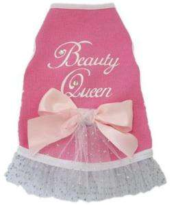Dog Clothes Beauty Queen Dress I See Spot Pet Supplies