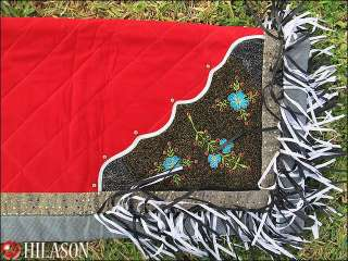 931 Western Show Barrel Racing Rodeo Saddle Blanket Pad