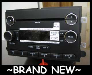 NEW FORD CD/ DISC PLAYER RADIO F150 MUSTANG 2006 2007 2008 2009