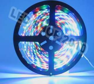 3528 RGB NO Waterproof Flexible Strip 300 LED 60leds/M + 24 key Remote