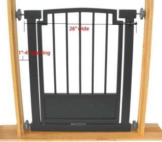 32 H Indoor DOG GATE Safety pet fence METAL 28 34 W
