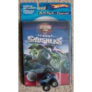 DVD Pack Assortment~Tour Crushers with BONUS Mini Monster Jam Truck
