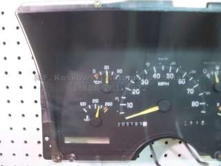 Dash Instrument Cluster Speedometer Gauges Chevy GMC Pickup Truck